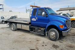 grua azul ford